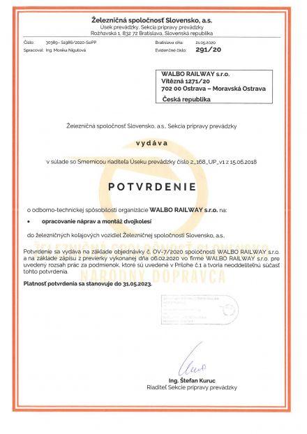 Železničná spoločnosť Slovensko, a.s.