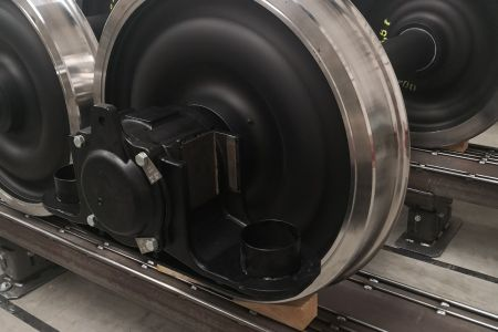 WALBO wheelsets with bearings